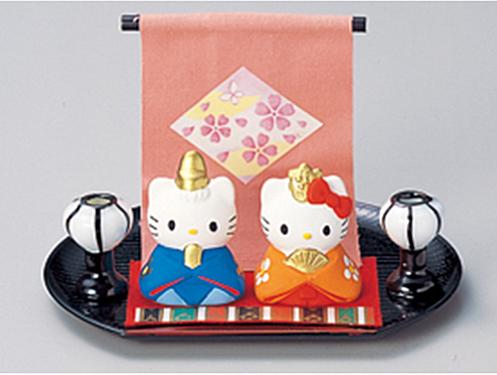 ハローキティ 雛祭りセット