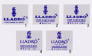リヤドロの真正品の確認方法