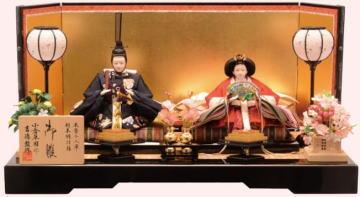 吉徳 親王平飾り「小倉草園作 春の舞」